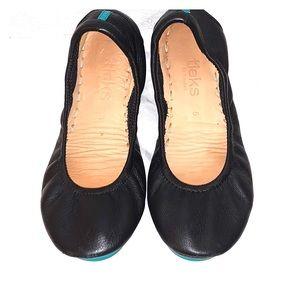Tieks By Gavrieli Ballerina Flats Black Sz 5
